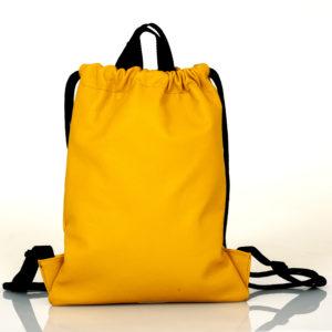 Zaino in pelle gialla- cinzia rossi