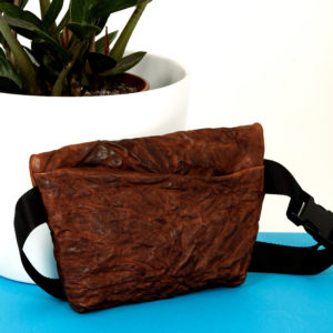 Brown leather belt bag - Cinzia Rossi