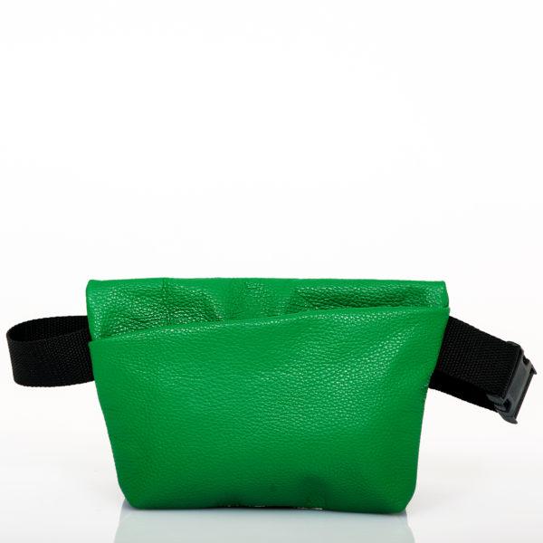 Marsupio in pelle verde - Cinzia Rossi
