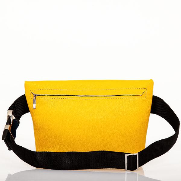 Marsupio in pelle gialla - Cinzia Rossi