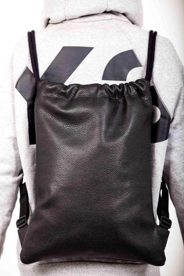 Zaino in pelle nera - Cinzia Rossi