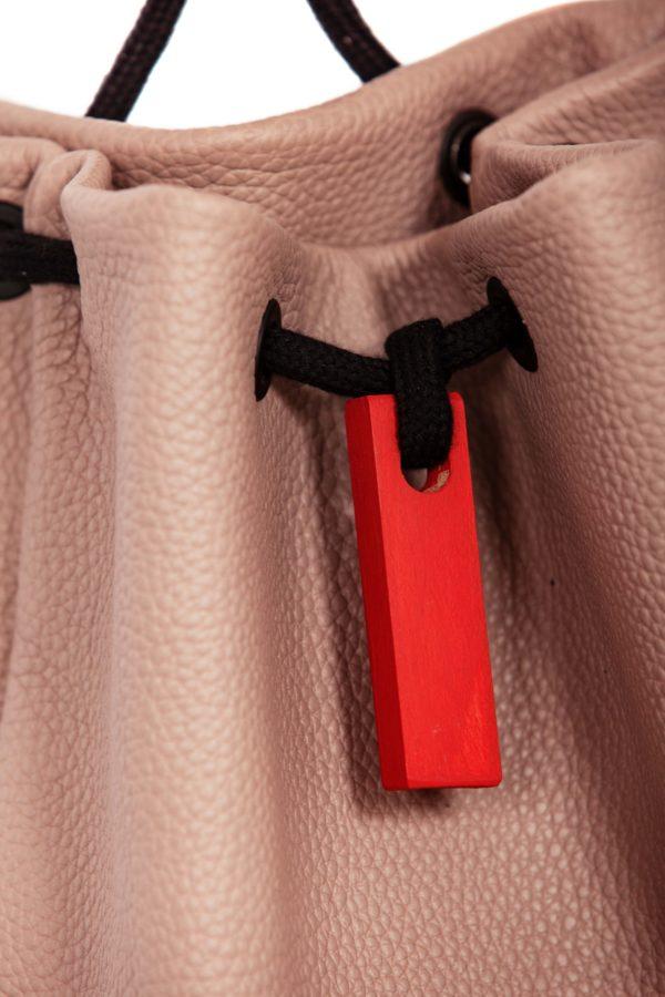Zaino in pelle rosa - Cinzia Rossi