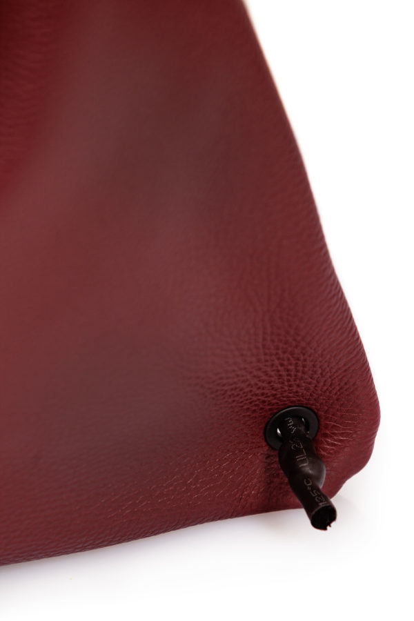 Bordeaux leather backpack - Cinzia Rossi