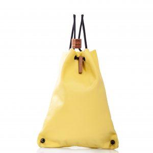 Zaino in pelle gialla - Cinzia Rossi